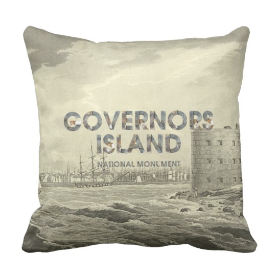 Governors Island Pillow