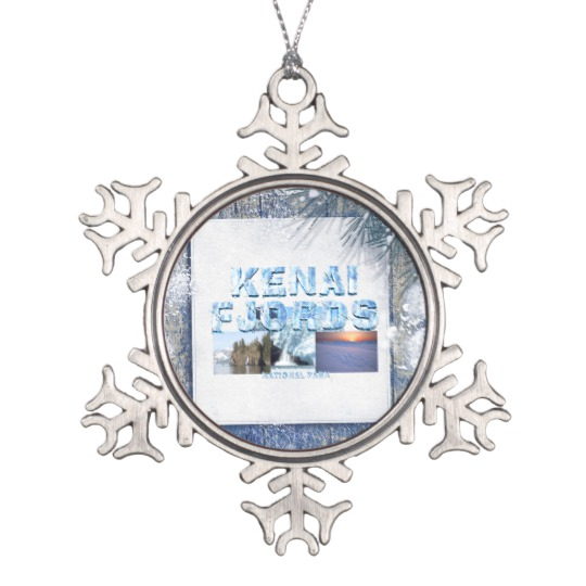 Kenai Fjords Ornament