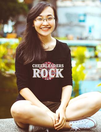Cheerleaders Rock T-Shirt