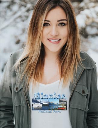 Glacier National Park T-Shirts, Backpacks, and Souvenirs